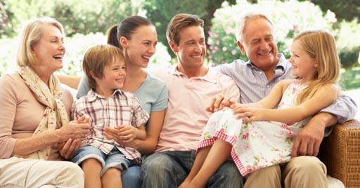 senior family